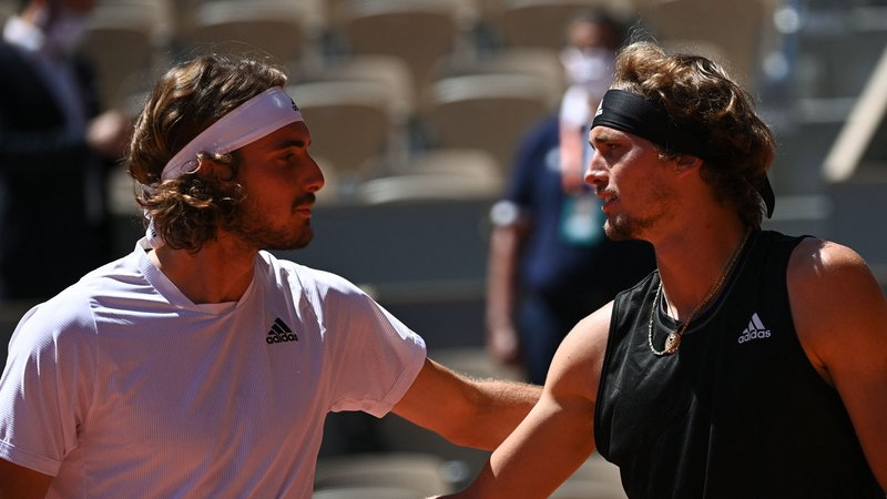 DAZN Streaming Roland Garros - Roland Garros   Semifinale, Zverev - Tsitsipas