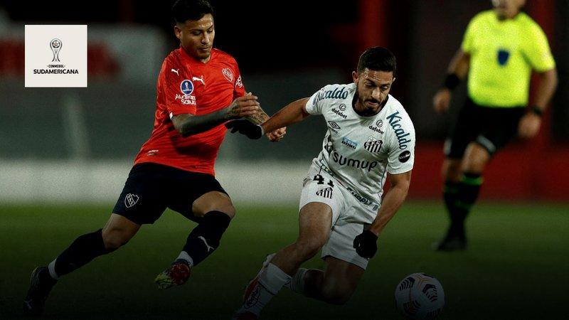 DAZN Streaming Copa Sudamericana - Independiente - Santos