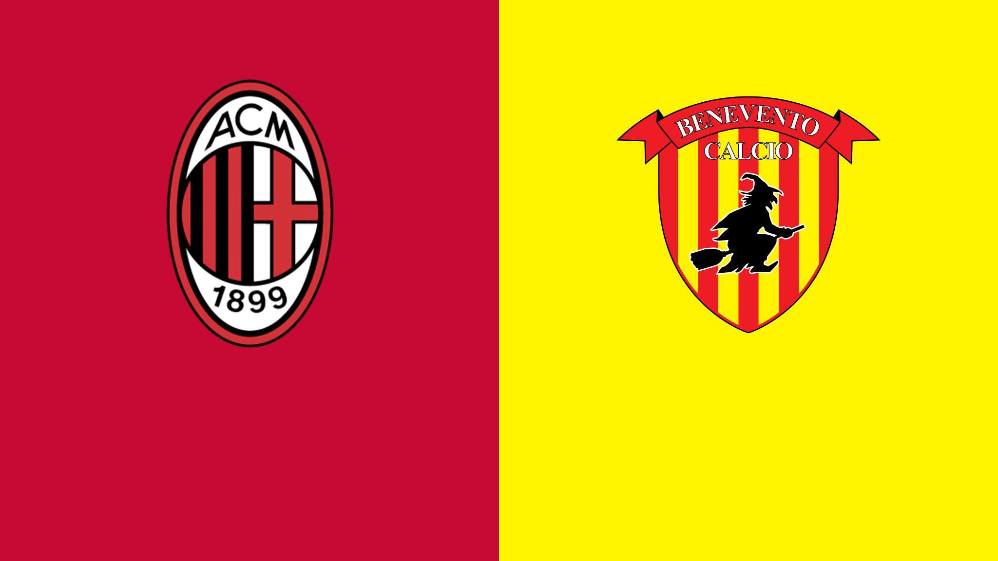 Watch Milan v Benevento Live Stream