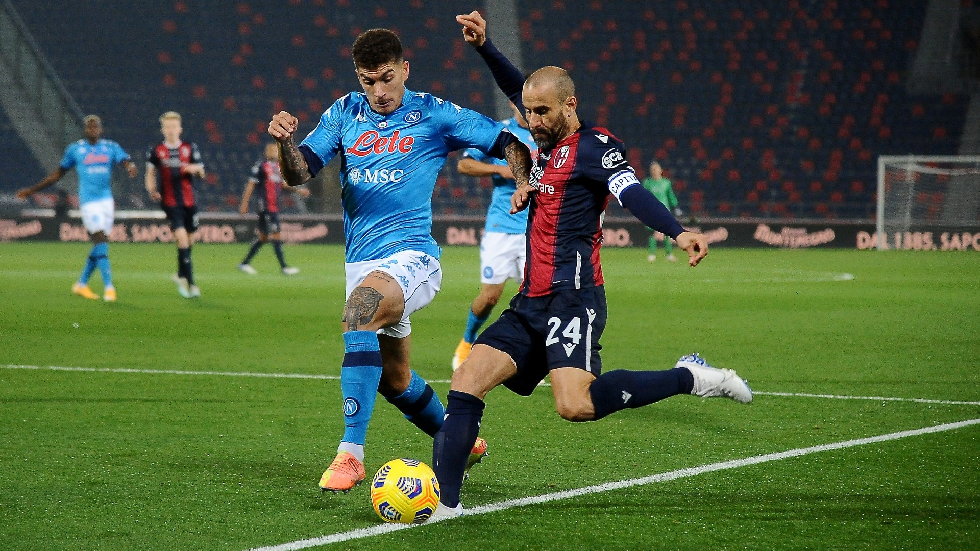Watch Bologna v Napoli Live Stream | DAZN DE