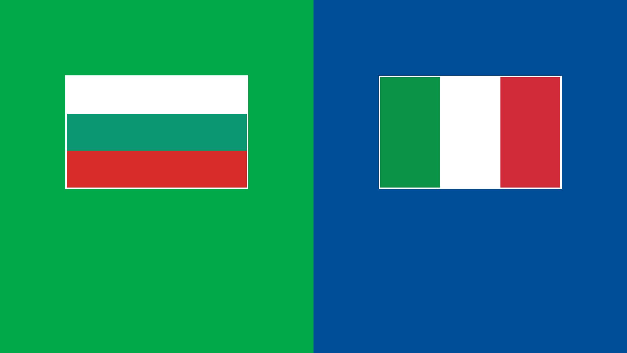 Watch Bulgaria v Italy Live Stream | DAZN JP